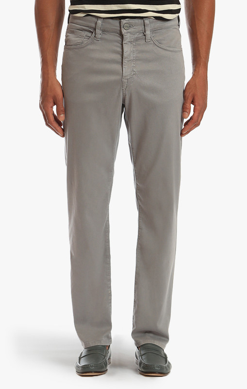 34 Heritage Men's Griffin Grey Soft Touch Charisma Pants - Font