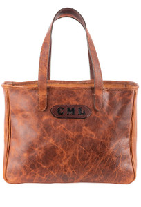 Pinto Ranch Christina Distressed Leather Tote - Front