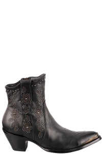 "Old Gringo Women's Samantha 7"" Studded Boots - Side"