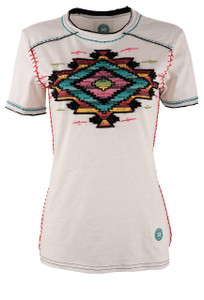 Double D Ranch Selena Saltillo Tee - Front
