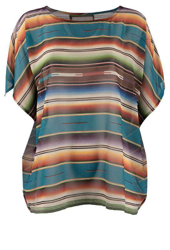 DOUBLE D RANCH BIG SPRINGS PONCHO TOP