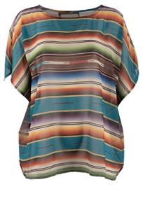 Double D Ranch Big Springs Poncho Top - Front