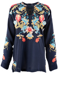 Johnny Was Vagabound Blouse - Front
