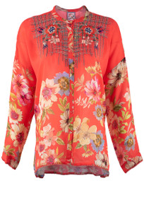 Johnny Was Odessa Blouse - Front