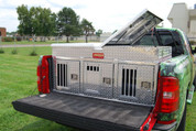 Hunter series 3 compartment dog box with storage (55053)