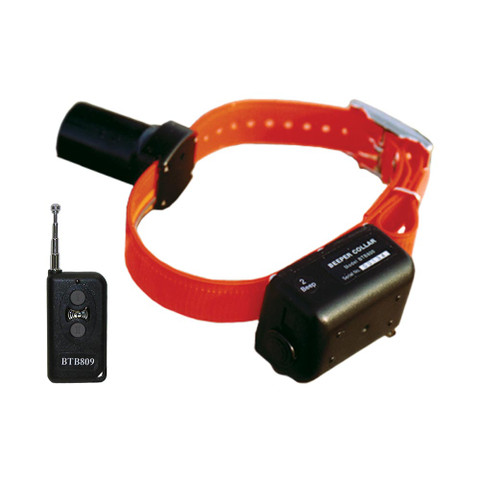 D.T. Systems Baritone Dog Beeper Collar With Remote Orange (BTB-809)