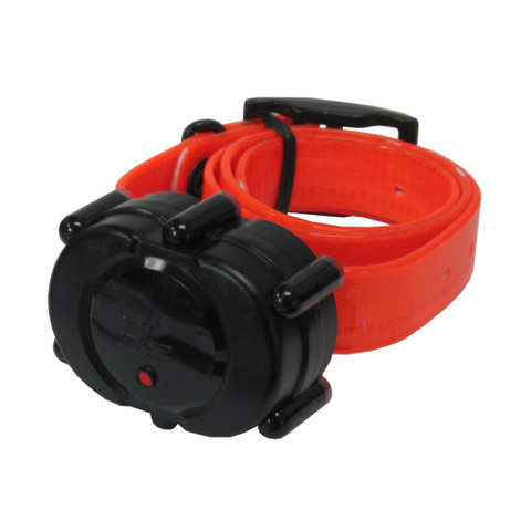 D.T. Systems Micro-iDT Remote Dog Trainer Add-On Collar Black Orange (IDT-ADDON-O)