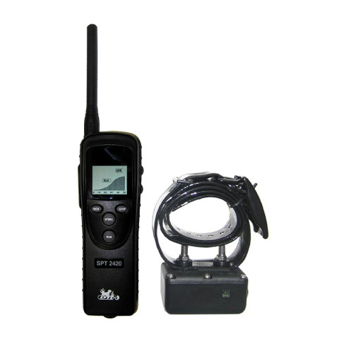 D.T. Systems SPT-2420 Super Pro e-Lite 1.3 Mile Remote Dog Trainer (SPT-2420)