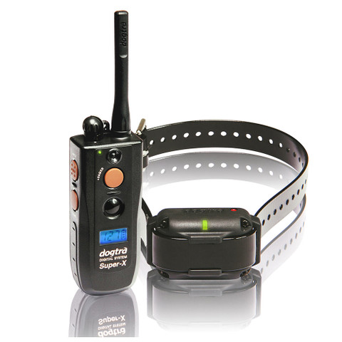 Dogtra 3500NCP Super-X 1 Mile Dog Remote Trainer Black (3500NCP)