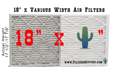 18 inch furnace air filter