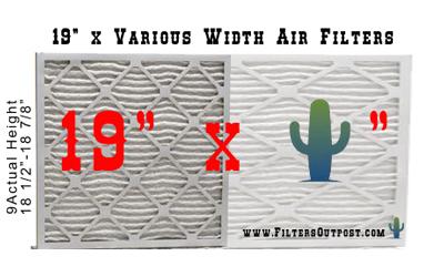 19 inch air fillter furnace