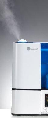 Humidifier mist