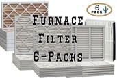 16 1/2 x 21 1/2 x 1 MERV 6 Fiberglass Air Filter
