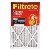 Filtrete Allergen Defense 16 x 25 x 1  MPR 1000 2 Pack
