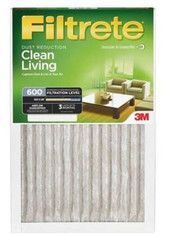 16x25x1 MERV 8 filter for the home by Filtrete Walmart