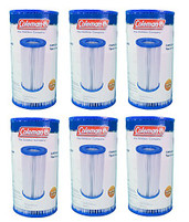 Coleman Type III A -C Pool Filter Cartridges (6-Pack)