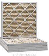 10 x 10 x 1 MERV 11 Pleated Air Filter