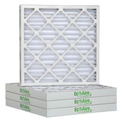 12 1/2 x 24 1/2 x 2 MERV 8 Pleated Air Filter 6-Pack
