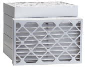 12 1/2 x 24 1/2 x 4 MERV 8 Pleated Air Filter 6-Pack