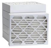 12 1/8 x 15 x 4 MERV 13 Pleated Air Filter 6-Pack