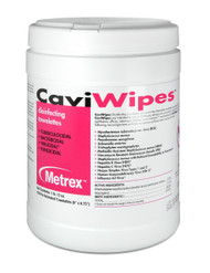 Cavi Wipes disinfecting towelettes are non-woven disposable towelettes pre-saturated with CaviCide.  Cavi Wipes are tuberculocidal, bactericidal, virucidal and fungicidal. Not for use on skin.