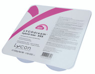 LYCOdream is a precise balance between LYCON's legendary traditional hot wax and LYCOtec film wax.  It offers the same shrink-wrapping performance of LYCON traditional hot wax, removing hair as short as 1mm, plus the pliability and ease of use of LYCOtec film wax.  Formulated with Titanium Dioxide and Micro Mica for superior skin protection and Argan Oil, Arnica and Aloe Vera to nurture and soothe skin.