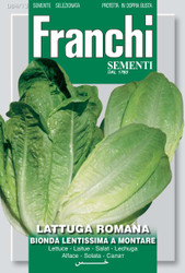 LETTUCE ROMAINE (Lattuga) Lentissima A Montare 4