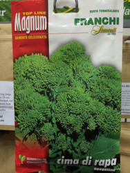 CIMA DI RAPA (Rapini) novantina MAGNUM 40g 10,000 + seeds