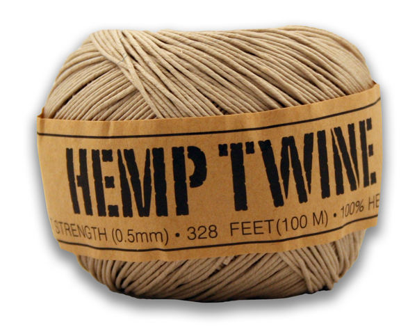 .5mm Natural Hemp Twine Cord