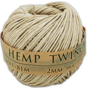 2mm hemp twine