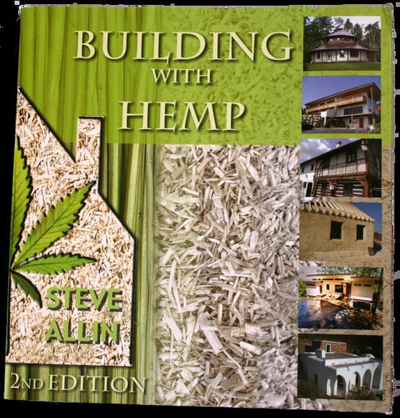 Building with Hemp - Book - By Author Steve Allin