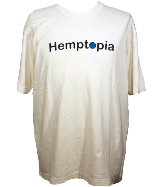 Hemptopia Logo - Heavy T-shirt - Front
