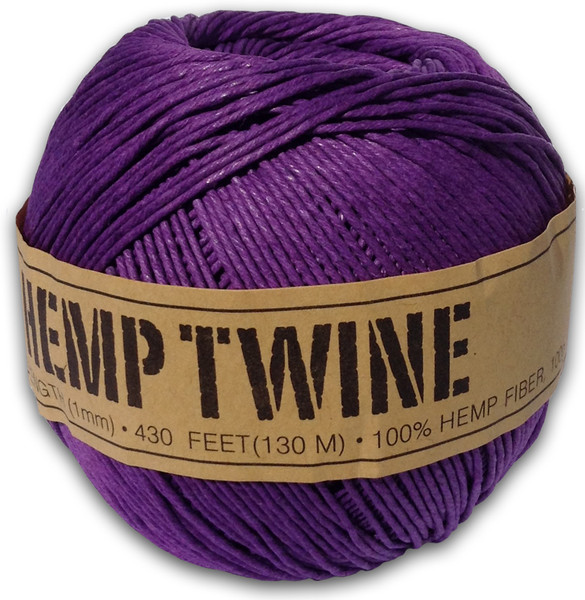Purple Hemp Twine