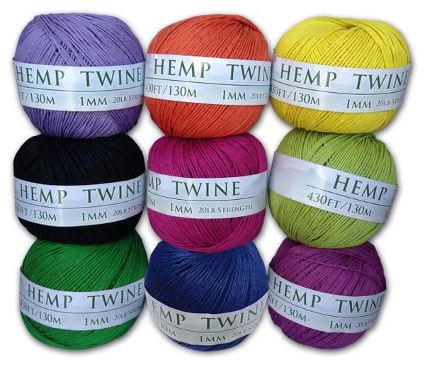 hemp twine variety pack