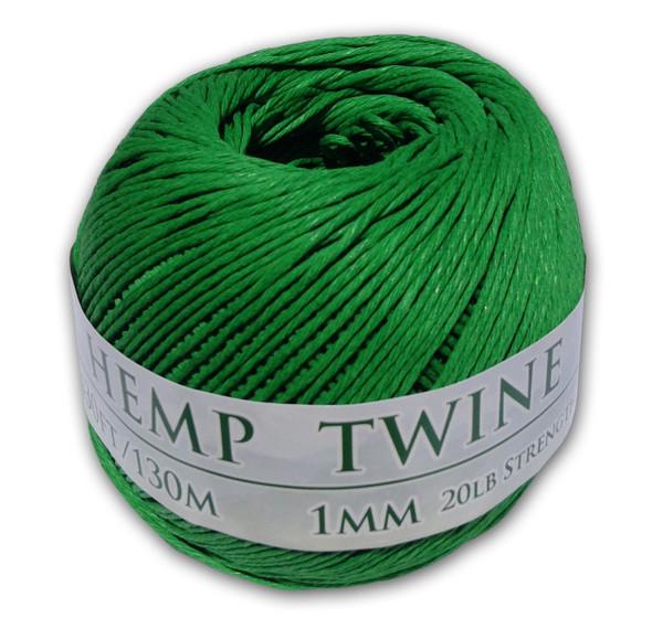 Green Hemp Twine