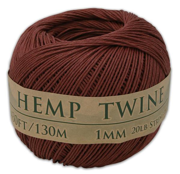 brown hemp twine