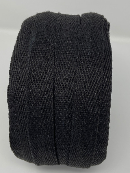 Side black hemp webbing