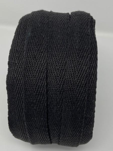 Side black hemp webbing