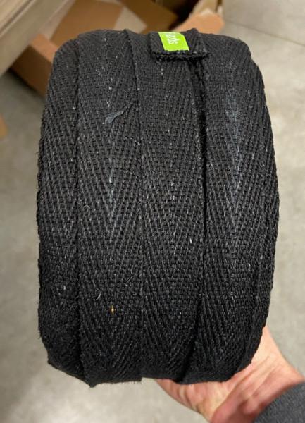 2nd side shot black hemp webbing