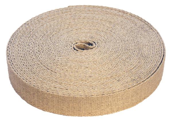 Natural hemp webbing
