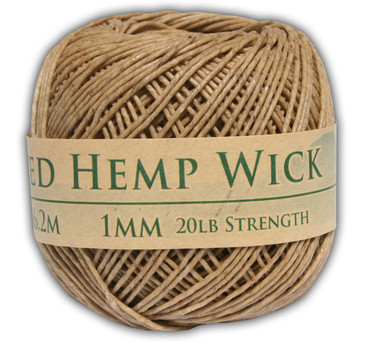 Bee's Wax Hemp Wick