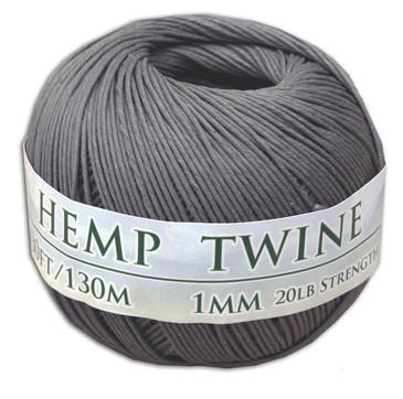 Gray Hemp Twine