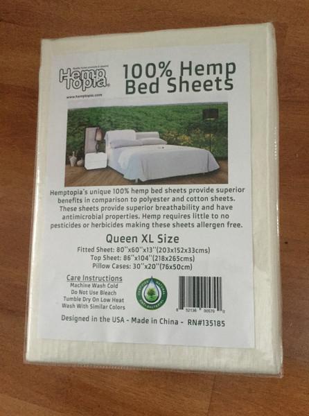 Hemptopia Bed Sheets
