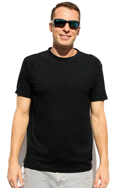 Men's Black Hemp T-Shirt