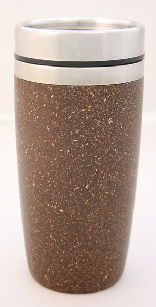 Hemp Plastic Coffee Tumbler