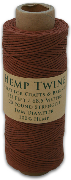 Brown Hemp Twine Spool