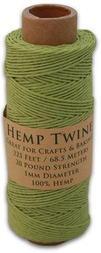 Lime Green Hemp Twine Spool