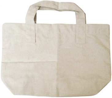 Market Hemp Tote Bag 55% hemp 45% organic cotton