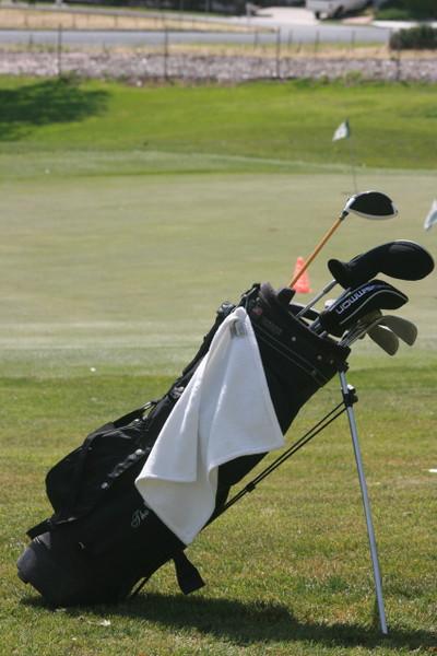 Hemp golf towel