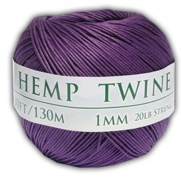 purple hemp twine